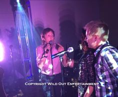 Paul McCartney singing with Josh Walther and Phase5 Saturday night.