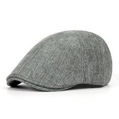9ab677edcac Unisex Mens Vintage Berets Hat Casual Solid Color Forward Caps England  Fashion