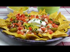 Nachos con Chili Estilo Foster's Hollywood | Nachos San Fernando - YouTube