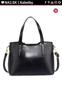 Buy Black Leather Shoulder Tote Bag in Pakistan Shoulder Handbags, Shoulder Bag, Leather Bag, Black Leather, Purses For Sale, Navy Women, Online Bags, Real Madrid, Transformers
