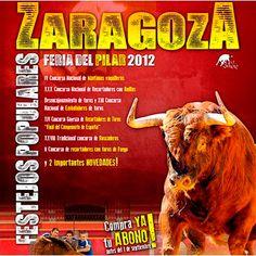 ¿Te gustan los festejos populares?¡Aprovecha nuestro OFERTÓN!¡Abonos para los festejos populares de la feria de Zaragoza al 20% DE DESCUENTO!¡Puedes ahorrarte hasta 71 EUROS! http://www.toroticket.com/entradas-toros-zaragoza/975-zaragoza-abono-festejos-populares-feria-del-pilar.html