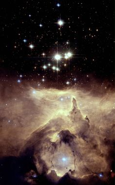 Starforming region of space.  Star. Forming. This is breathtakingly beautiful.