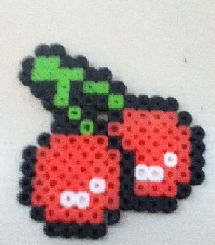 deviantART: More Like Plants vs. Zombies Perler - Close up by *Libbyseay