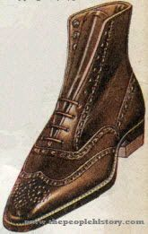 Brogue Pattern Mens Shoe 1921