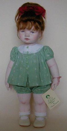 Artist Dolls by Teresa Churcher