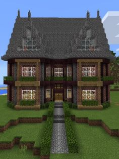 30 Minecraft House Pic Minecraft House Pic - Easy house to make on creative and survival Rebuild] Timber framed house Rebuild] Old House Beetlejuice House Minecraft Map Cool. Minecraft World, Minecraft Farm, Minecraft Mansion, Minecraft Houses Survival, Cute Minecraft Houses, Minecraft Houses Blueprints, Minecraft Plans, Minecraft House Designs, Minecraft Construction