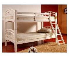 Double Arch White bunk bed convertible to 2 beds - $250  Item # U4554WH  Mattress is optional for only $50 each  If you are interested contact Daniel 916-222-5609  Available also in black  www.furnitureWelove.com  San Francisco, CA 94124