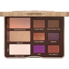 Too Faced Peanut Butter & Jelly Eyeshadow Palette Free gift with purchase between 11/6/16 - 11/26/16
