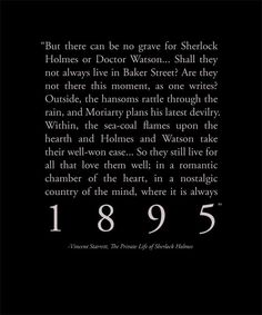 ; Sherlock Holmes