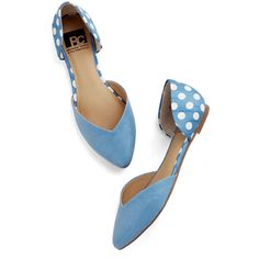BC Footwear Dreaming of Destinations Flat ($29) ❤ liked on Polyvore featuring shoes, flats, blue, ballet flat, flat, ballerina flat shoes, pointy flats, polka dot flats, blue ballet flats and dorsay flats