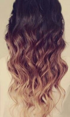 Ombre hair- I'm thinking of getting this done sometime in the future? Yes no maybe? I think it's pretty :)