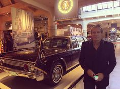 At Henry Ford Museum in Detroit, Michigan, on 5th October, 2016, beside President John F Kennedy's limousine he was assassinated in in Dallas, Texas.
