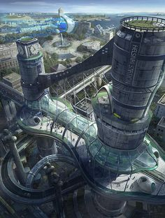 Fantastical Realms from Concept Artist Wang Rui » Design You Trust. Design, Culture & Society.