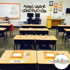 Learning Zone - Classroom Reveal 2016-2017