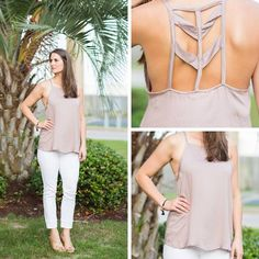 Geo Cut-out Top is a must have for the summer. How perfect would this be with that adorable bralette you just bought?     http://stitchbee.com/products/geo-cut-out-top 22 August 2016