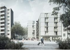 EM2N - Projects - Housing Briesestrasse Neukölln, Berlin, Germany