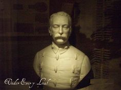 A great bust of Colonel John Rouse Merriott Chard VC (21 December 1847 – 1 November 1897).