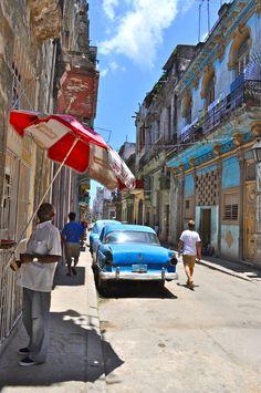 eventualmente...cuando la gente quita a Castro:  La Habana, Cuba
