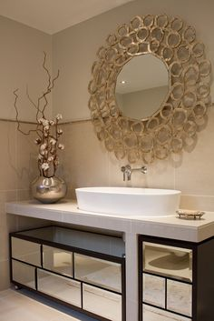 Mirror in the Bathroom . . . | Bespoke Lombard Chest of Drawers - Elegance Interiors