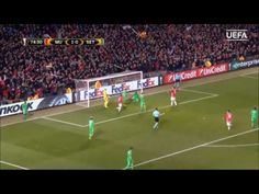 Zlatan hat- trick for United Europa League Highlights 16/02/2017 - YouTube