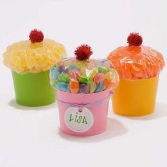 Fiestas infantiles: Cupcake de golosinas, Souvenir para nuestra fiesta