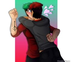 DeviantArt: More Collections Like SEPTIPLIER hot hug :))) by Cosmicchara