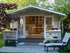 If you are in desperate need of a home office but simply do not have anywhere to set up indoors, you could consider turning a garden shed...