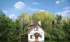 Projekt domu Szarejka – 63.63 m2 - koszt budowy 65 tys. zł Places To Visit, Cabin, House Styles, Home Decor, Plants, Home, Decoration Home, Room Decor, Cabins
