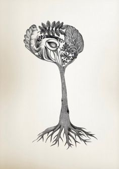 """Winner of the Abstract Category, The Brain Tree by Silje Soeviknes, Erlend Hodneland and Judith Haász is inspired by the Norwegian word for brain stem, hjernestamme, which translates directly to brain tree trunk."" Caption at link"