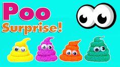 Phân Của đồ Chơi Video Cho Trẻ Em người nhện tàu hỏa thomas Foam Clay Poo Surprise Eggs Toys