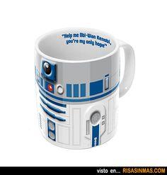 Tazas de café originales: R2D2