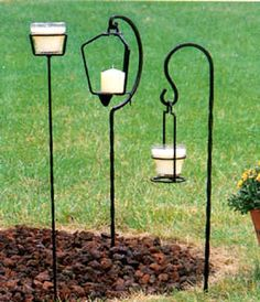 wrought iron plant hangers - Google Search