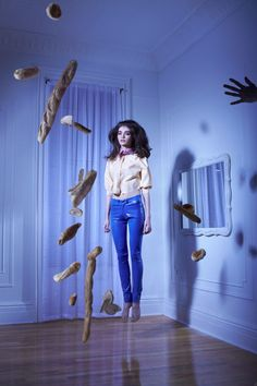 Suspended. Tableaux Vivants in V Magazine. xoxo, k2obykarenko.com
