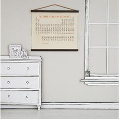 Periodic Table Banner in Unframed Wall Art | The Land of Nod