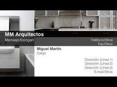 Resultado de imagen para tarjetas presentacion arquitectos