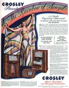 Crosley Radio, 1954.