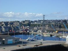 A view of Wick Harbour, Caithness, Scotland. The furthest North I have been in the UK.