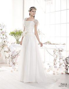 Vestido de novia ibicenco LINOSA - Cala | VILLAIS