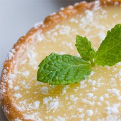 A simple Luscious lemon tart recipe for you to cook a great meal for family or friends. Buy the ingredients for our Luscious lemon tart recipe from Tesco today. Lemon Desserts, Lemon Recipes, Tart Recipes, Buttermilk Pie, Tesco Real Food, Good Food, Yummy Food, Other Recipes, Food Processor Recipes