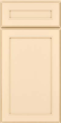 KraftMaid Cabinets -Square Recessed Panel - Veneer (PDM) Maple in Biscotti w/Cocoa Glaze from waybuild