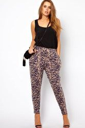 Trendy Plus Size Fashion: Spring Trousers