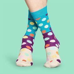Polka this Polka that Polka dot!  #socks #happysocks #cute #polkadot Aqua Blue, Purple, Cool Socks, Awesome Socks, Colorful Socks, Happy Socks, Bubblegum Pink, Spring Summer 2018, Are You The One