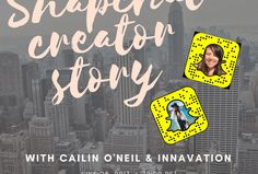We spoke to Cailin O'Neil Snapchat creator & influencer to bring you her tips on growing your audience, working with brands and much more!