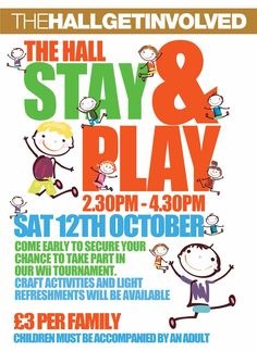 Sat Oct per family. All Poster, Posters, 4 Kids, Children, Craft Activities, Play, Crafts, Kids, Manualidades