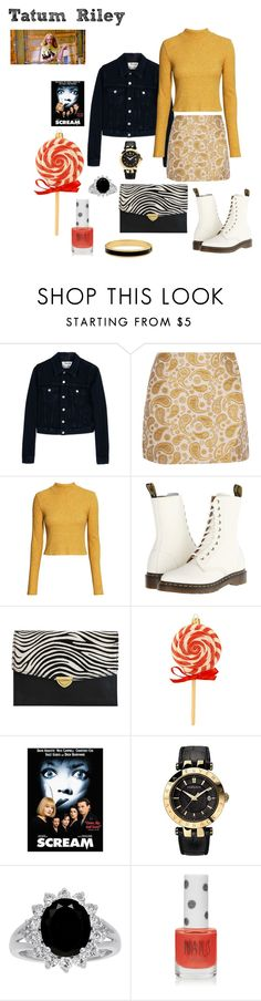 """""""Tatum Riley - Scream"""" by ashleigh-kuzio on Polyvore featuring Acne Studios, STELLA McCARTNEY, H&M, Dr. Martens, The Code, Nordstrom, Versace, Topshop and Halcyon Days"""