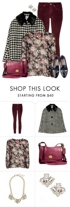 """Pattern Play"" by asigworth ❤ liked on Polyvore featuring Benetton, Moschino Cheap & Chic, Boohoo, Miu Miu, Coach, J.Crew and Kate Spade"