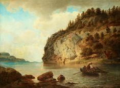 Hans Gude - På kysten (1895). jpg (2866×2098)