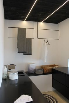 Beautiful laundry room, check out Annaleena. Decor, Wall, Storage, Wall Lights, Laundry Room, New Homes, Home Decor, Room, Laundry Storage