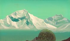 Path to Kailas by Nicholas Roerich 1933