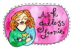 Ask Goddess Leonie: How to create your own website for your big dream - Leonie Dawson - Shining Life + Biz